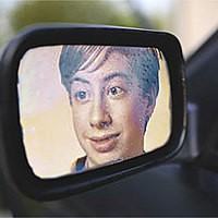 Effet photo - Side mirror