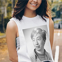 Foto efecto - Photo print on tshirt