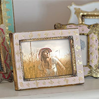 Photo effect - Handmade photo frame with a picture of you