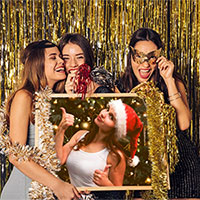 Фотоефект - New Year party