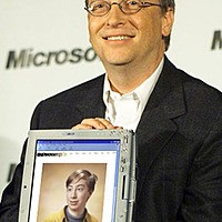 Photo effect - Bill Gates