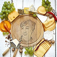 Photo effect - Gourmet Cheese For You