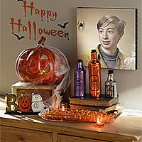 Effet photo - Halloween decorations