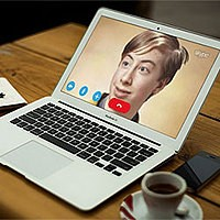 Фотоэффект - MacBook Air. Video call