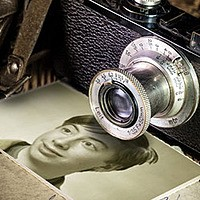 Photo effect - Moment captured in the past