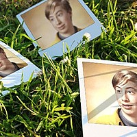 Photo effect - Photos On The Grass