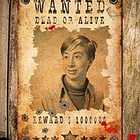 Photo effect - Wanted. Dead or Alive
