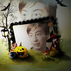 Photo effect - Halloween Frame