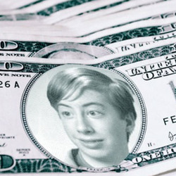 Photo effect - Pack of personal dollars