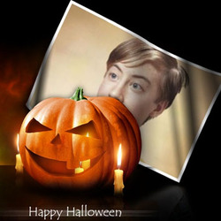 Photo effect - Have a good and funny Halloween