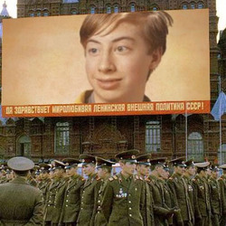 Photo effect - Military forces of the USSR