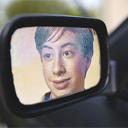 Photo effect - Side mirror