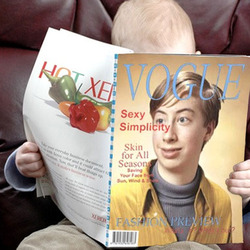 Effet photo - Sur la couverture du magazine Vogue