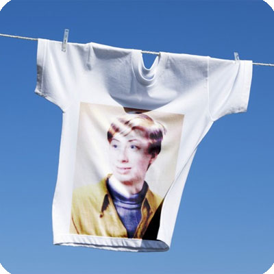 Photo effect - Drying of favorite tshirt