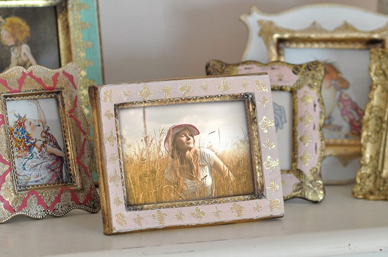 Effetto - Handmade photo frame with a picture of you