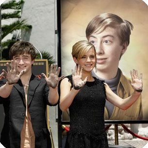 Foto efecto - Actores de cine Harry Potter