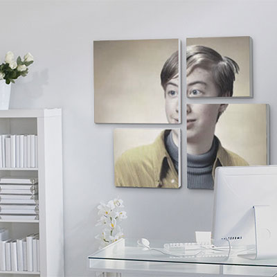 Photo effect - Picture of yourself in a personal office