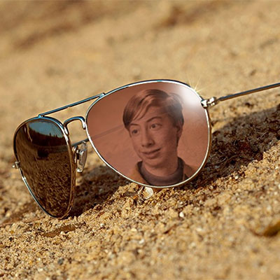 Photo effect - Reflection in sunglasses