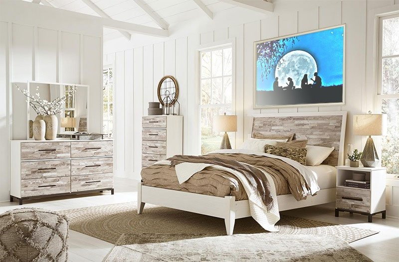 Foto efecto - Room with white interior