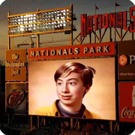 Photo effect - 'Nationals park' scoreboard
