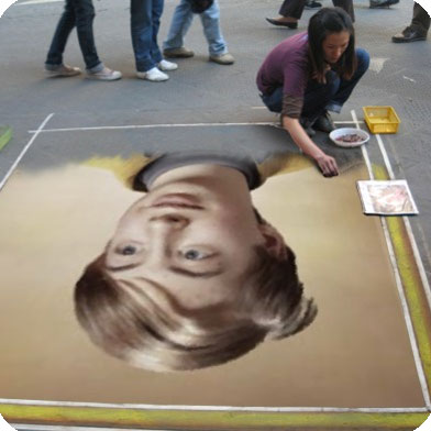 Photo effect - Making street art from your photo