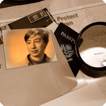 Photo effect - Top secret documents
