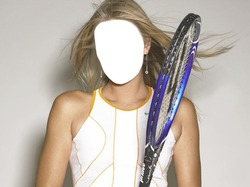 Mini Photo frame Tennis. Charme Maria Sharapova