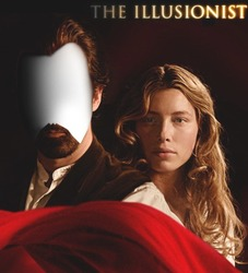 Mini Photo frame The illusionist