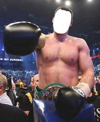 Mini Photo frame Boxing. Vitaly Klitschko is the best