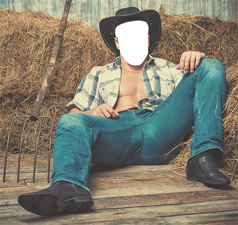 Ваши фото - Cowboy having rest