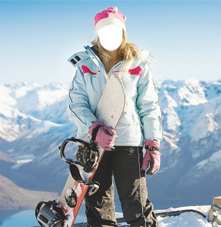 Your photos - Girl snowboarder