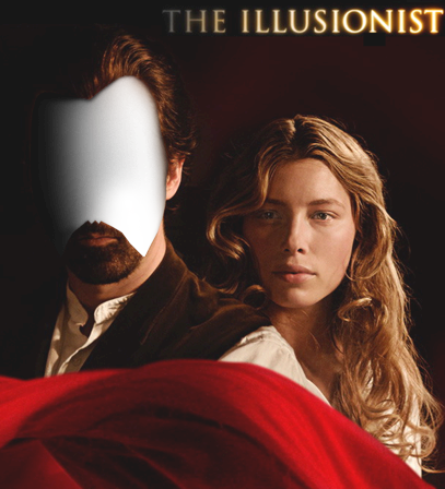 Photo frame The illusionist