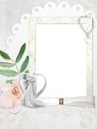 Photo frame - Weding Still Life