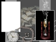 Marco de fotos - Time is Money