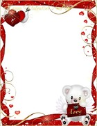 Photo frame - Wish You Happy Valentines Day