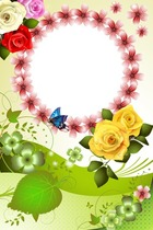 Photo frame - Romantic Roses
