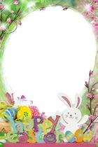 Photo frame - Easter Rabbit