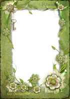 Molduras para fotos - Remember this captured moment with our flower frame