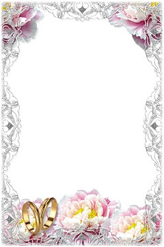 tender wedding frame