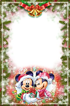 Christmas with Mickey and Minnie