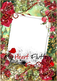 My heart flutters for you...