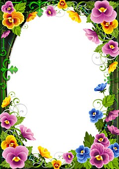 Flowers Photo Frames | LoonaPix - Roses, Tulips, Poppies