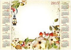 Calendario 2015. Romantico autunno