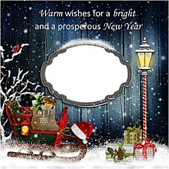 Warm wishes for a New Year