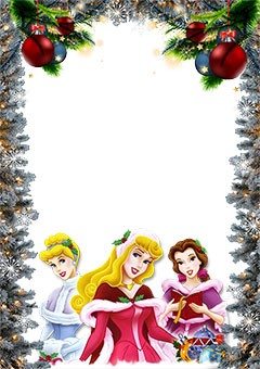 disney princesses wish you a merry christmas