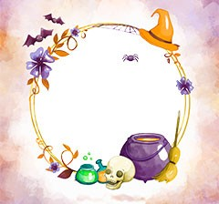 Halloween magic potion