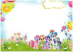 Lovely My little pony characters