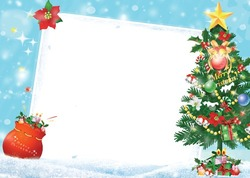 Photo frame - Merry Christmas