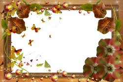 Mini Photo frame - Secret of autumn