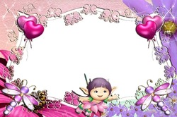 Mini Photo frame - Cute baby world